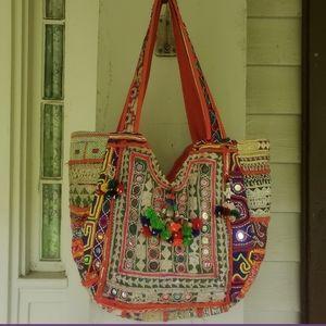 Artisan Banjara Boho Hippie Gypsy Embroidered Bag